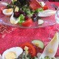 assiette de l'été