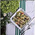 Salade de courgettes... oui crues