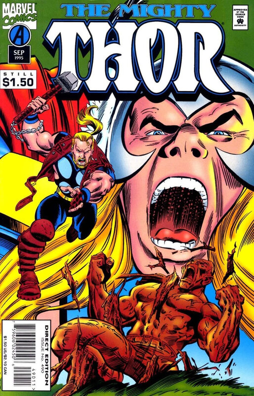 mighty thor 1966 490