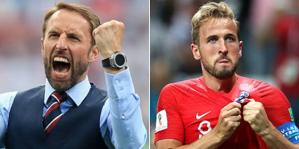 gareth southgate and harry kane