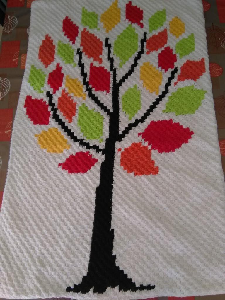 couverture bébé arbre