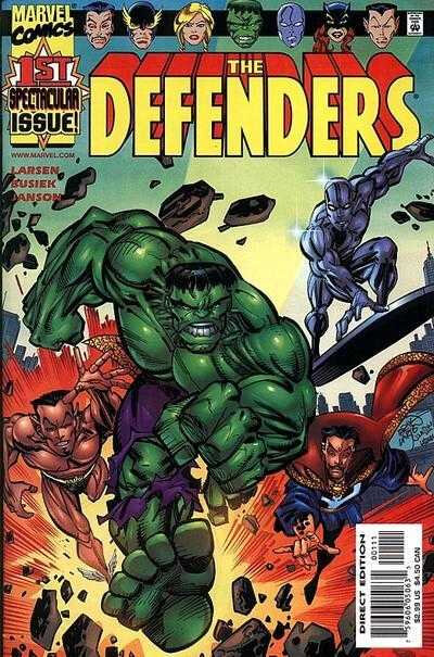 Pack VO The Defenders by Busiek & Larsen