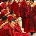 Moine avant la priere