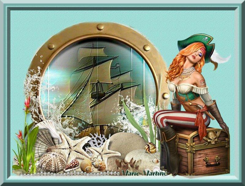 pirate sur coffre