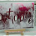 Blog hop du mois d'octobre... tout en rose...