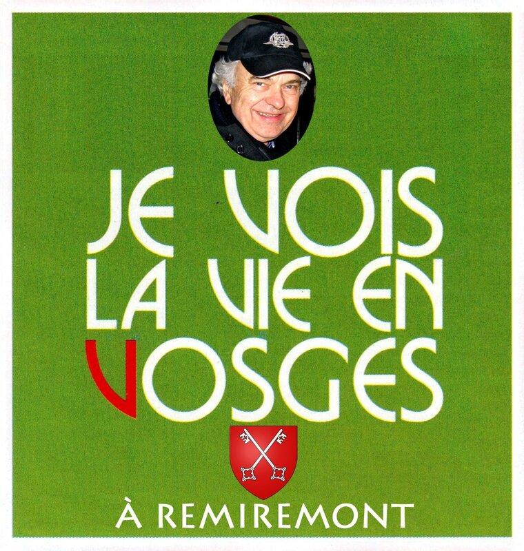 JE VOIS LA VIE EN VOSGES (Vert) JCB à Remiremont 88200