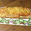 Croque cake endives bacon