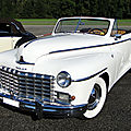 Dodge custom convertible 1946-1948