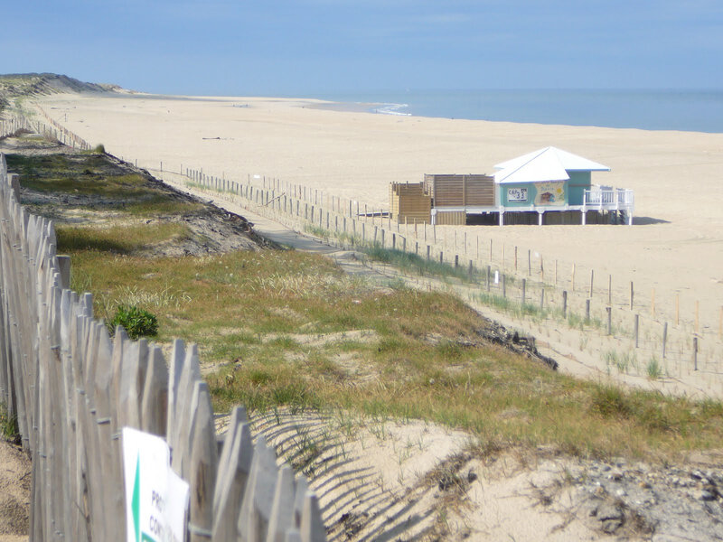 Photo-plage-baraque-biscarrosse-plage