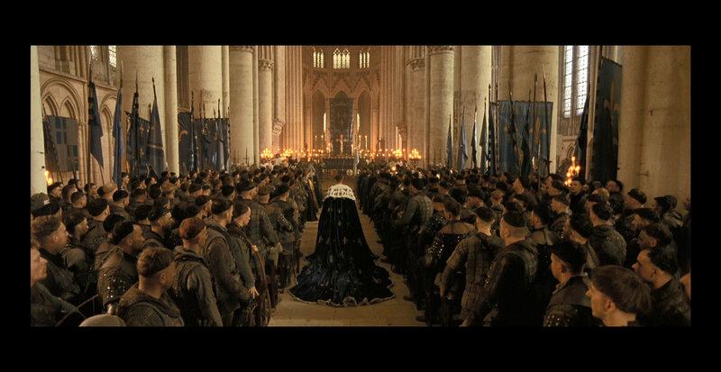Sacre du Roi dans la cathédral de Reims