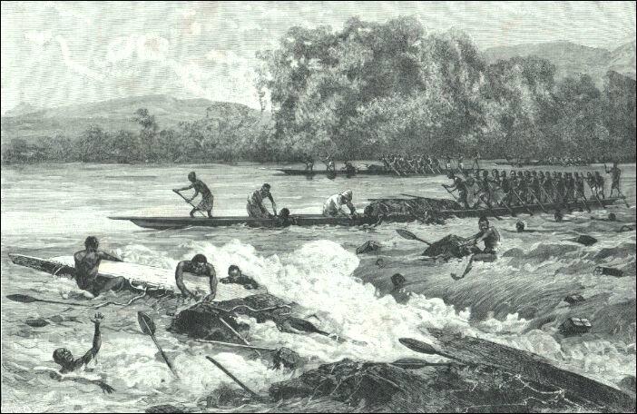 Pirogue rapide afrique