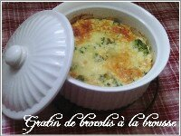 Gratin brocolis brousse index