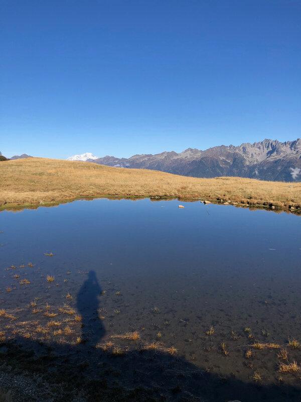 Octobre 2019 : l'automne au lac des Grenouilles et Mont Blanc