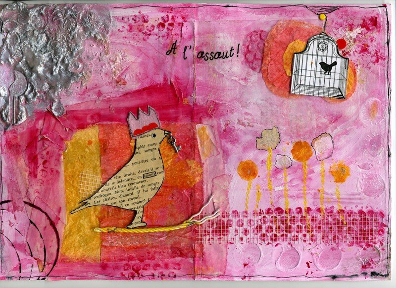 A l'assaut (Art journal)(21/X29.7)(mars 2007)