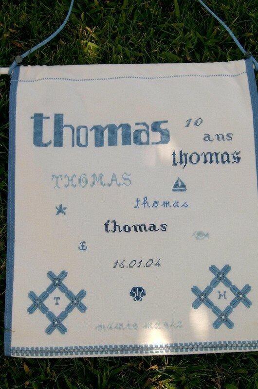 Pour les 10 ans de Thomas réalisé par ma Maman