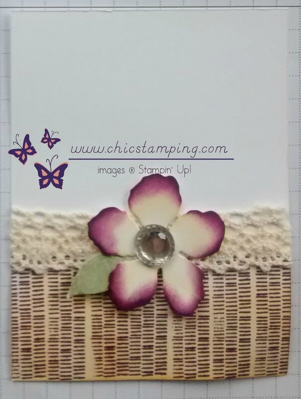 DIY project life card series bontanical bloom #4