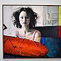 Xénia hausner, peintre autrichien au musée wurth erstein