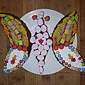 Gâteau papillon et jeux pour fêter 5 ans