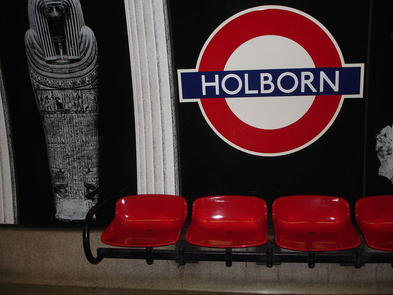 London Underground : Station Holborn