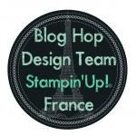 LOGO BLOG HOP DESIGN TEAM pour mettre en titre sur les blogs