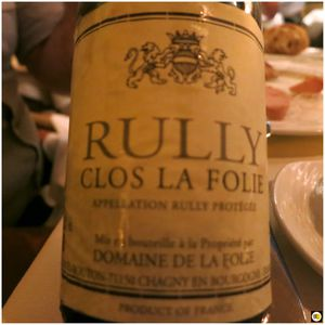 Rully Clos La Folie 2012