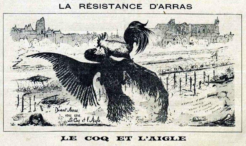 Arras le coq et l'aigle