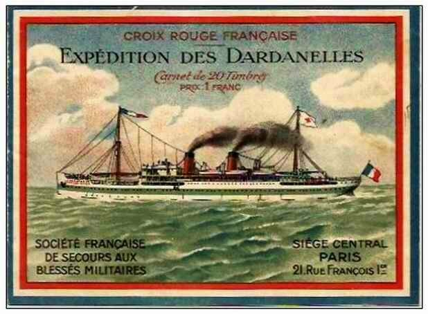 Croix rouge Dardanelle