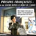 Prisons françaises : 36ème suicide de l'année