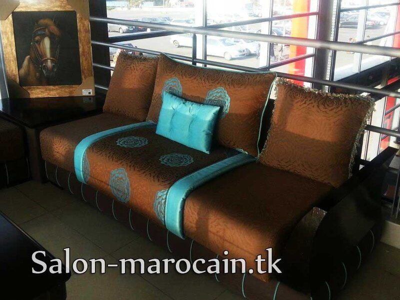 Salon Marocain Cuivrique Salon Marocain Moderne