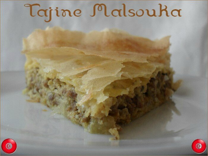 Tunisie Tajine Malsouka 1
