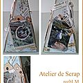 Atelier de scrap - projet n°4, n°3, n°2, n°3 - mise à jour des inscriptions du 09/10