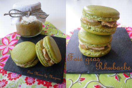 Macarons_foie_gras_rhubarbe