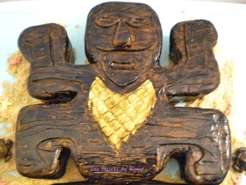 Gâteau Koh-Lanta 3