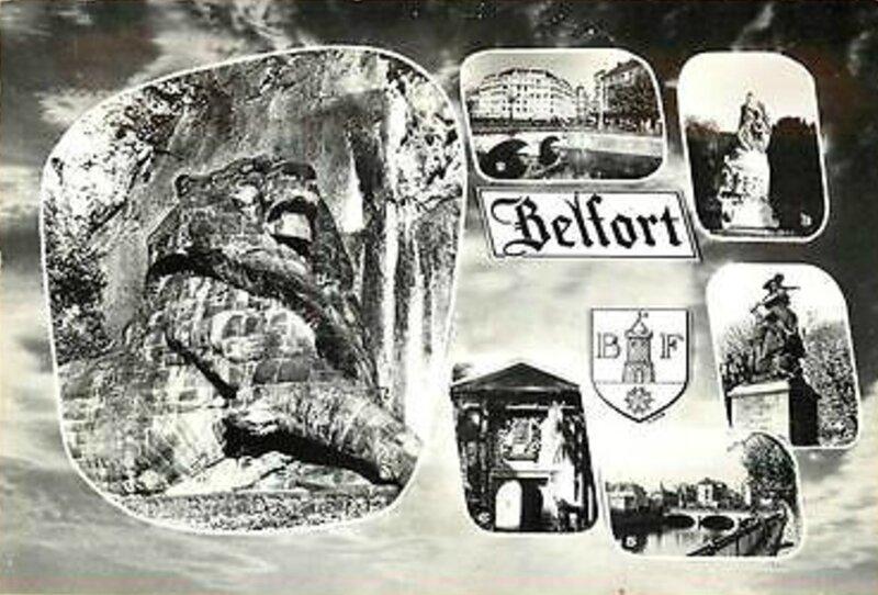 CPSM Belfort Multivues