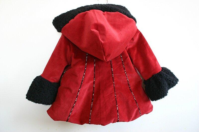 manteau féérique rouge 4