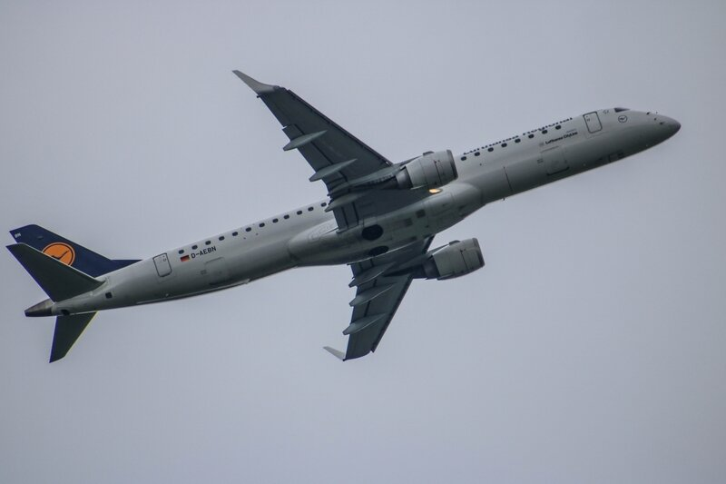 Embraer ERJ195 de la Lufthansa