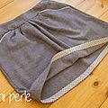 Petite jupe d'hiver