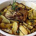 Rôti de porc aux écailles de citron vert