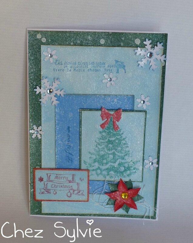 Carte 205 swap Noël en automne