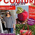 Passion Couture Créative n° 2 - octobre-novembre 2013 - Couverture
