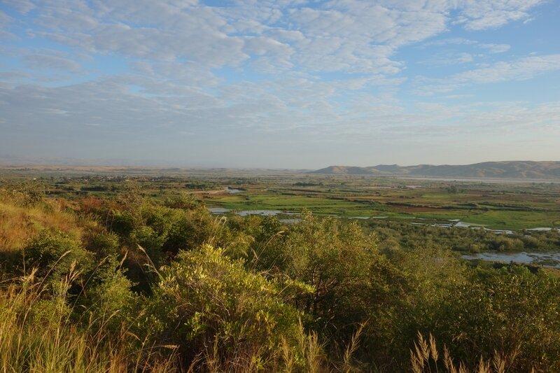 la plaine de Miandrivazo