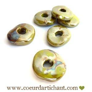 bijoux-disque-en-ceramique www.coeurdartichaut.com