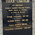 Tixier ernest (reuilly) + 08/03/1919 colmar (68)