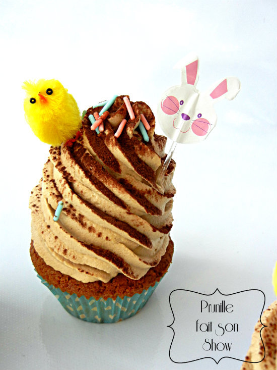 cupcake paques prunillefee