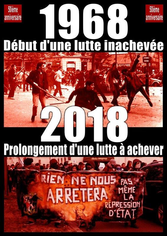 1968 50ième anniversaire