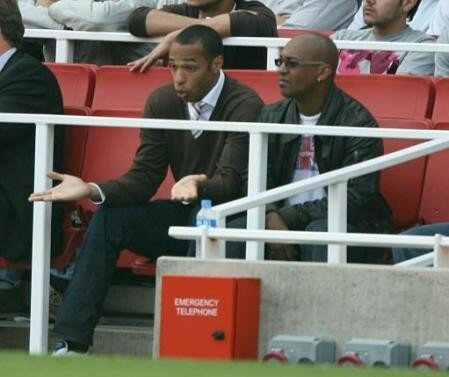 Le très grand Thierry Henry