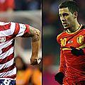 Coupe du monde brésil 2014: la belgique croise le fer ce soir avec les etats unis