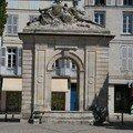 Fontaine construite en 1754
