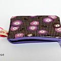 Porte-monnaie Coquelicot Petit Pan violet
