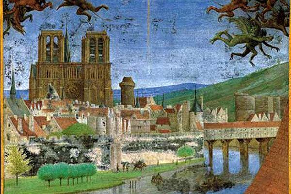 Pont-du-Moyen-Age-Saint-Michel-extrait-de-la-Descente-du-Saint-Esprit